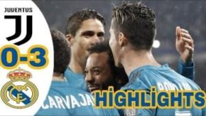 Juventus vs Real Madrid 0-3 All Goals & Highlights 03/04/2018 HD